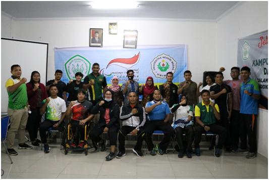 PKM Penataran Pelatih Lempar NPC Sumatera Utara Menyongsong Peparnas 2024 Aceh-Sumut