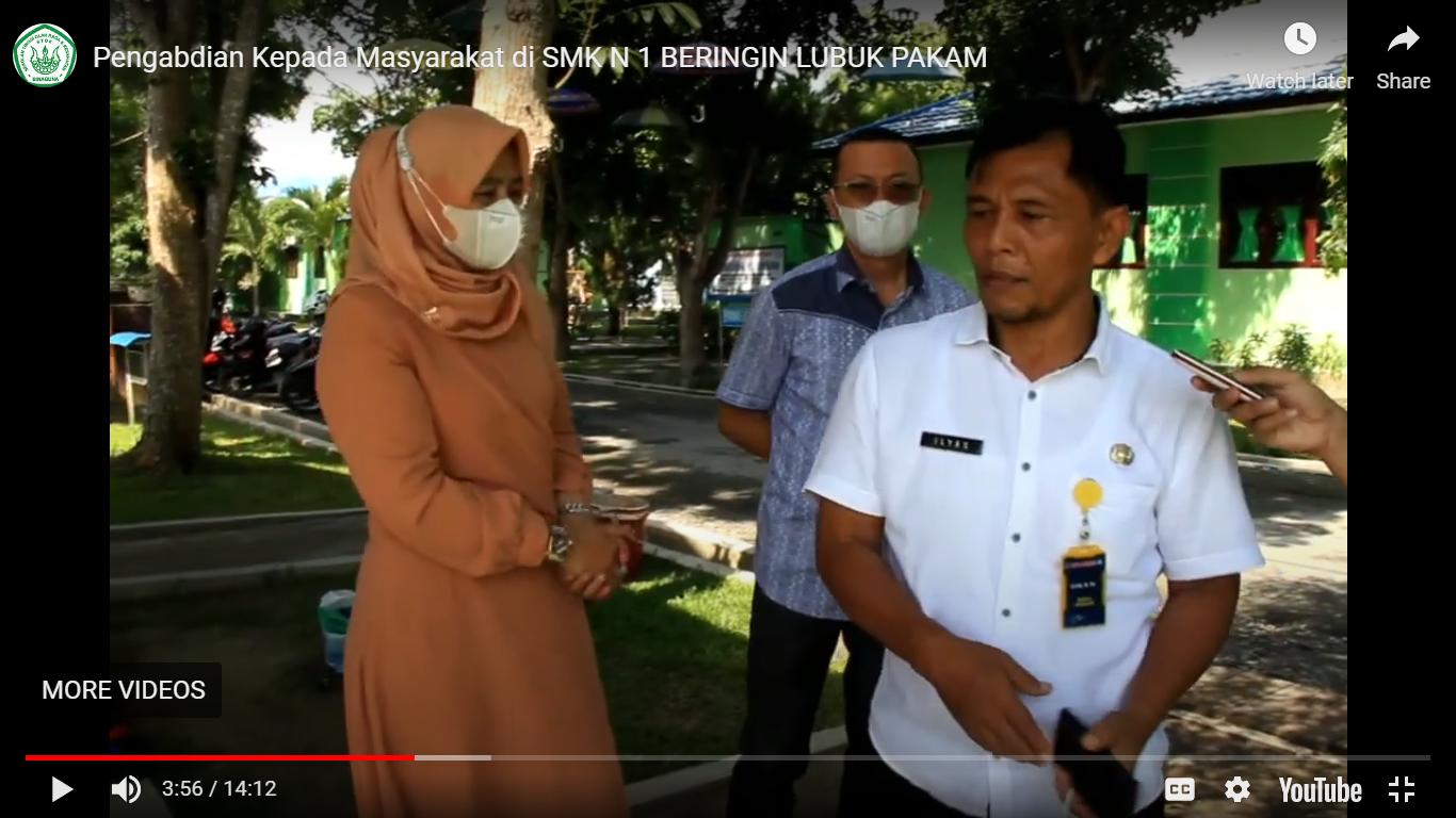 PKM Pelatihan Cabang Olahraga Petanque di SMK Negeri 1 Beringin Kabupaten Deliserdang