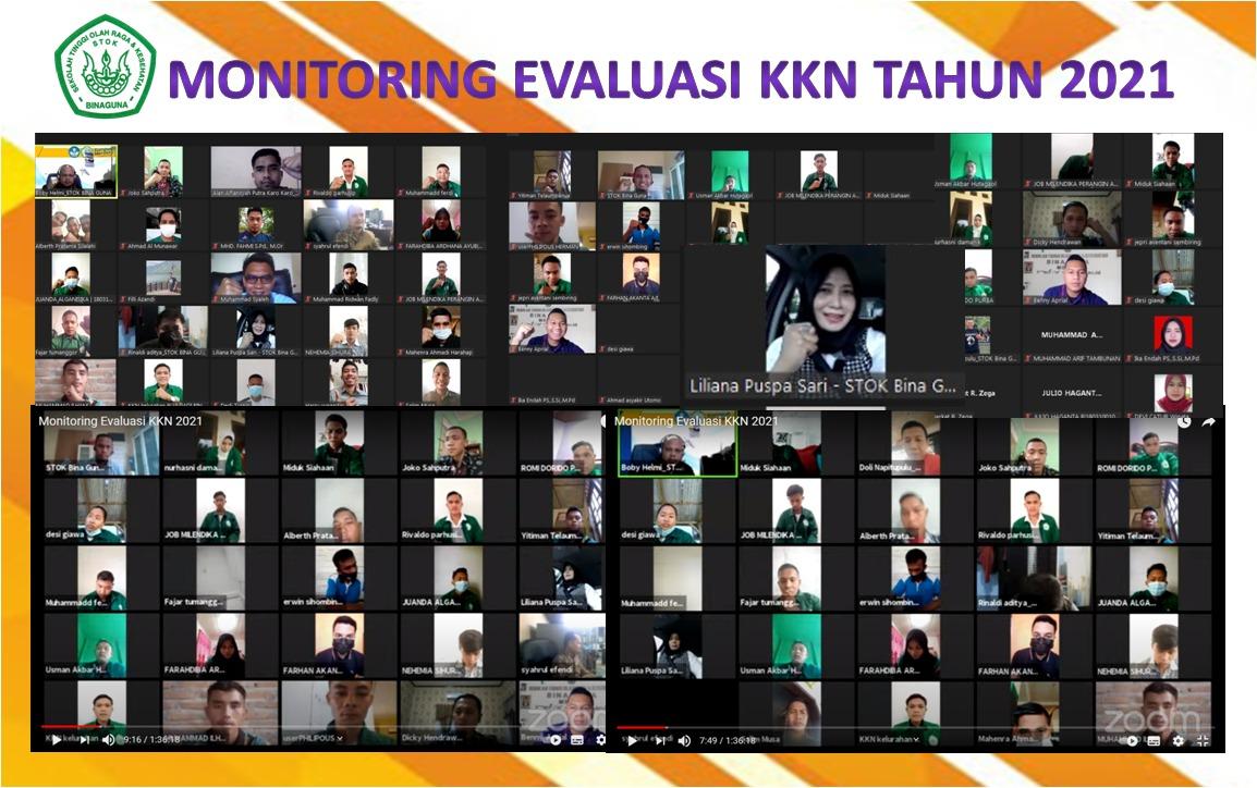 Monitoring Evaluasi KKN Tahun 2021